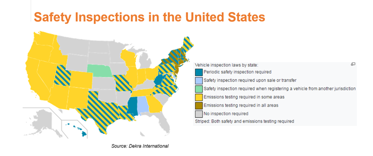 safety inspections in the united states map