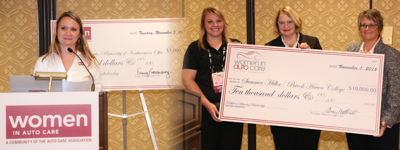 Women in Auto Care Scholarships