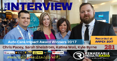 impact award podcast interview 2017 remarkable results radio